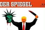 Hình 'Trump chặt đầu Nữ thần Tự do' trên tạp chí Đức gây tranh cãi