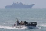 Nghi vấn tàu Trung Quốc do thám Mỹ, Australia tập trận