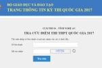Nghệ An công bố địa chỉ tra cứu điểm thi THPT Quốc gia 2017