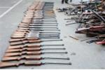Tận thấy Công an Hải Phòng tiêu hủy 'kho' vũ khí, vật liệu nổ 'khủng'