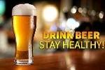 Uống bia tốt cho cả đàn ông và đàn bà