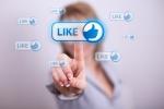 Càng like nhiều trên facebook, càng kém tự tin