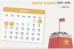Lịch nghỉ chính thức lễ Quốc khánh 2/9 năm 2017