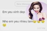 Hồ Ngọc Hà công khai tin nhắn được tán tỉnh, úp mở chuyện đang 'tự do'