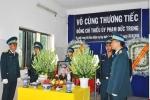 Máy bay L39 rơi ở Phú Yên: Truy phong thiếu úy cho học viên hy sinh