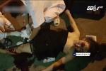 'Quái xế' chở 5 cô gái trên xe máy phóng ẩu, tông trực diện xe tải trên cầu