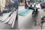 Sau vài ngày truy quét, CSGT lại làm ngơ mặc cho xe máy chém nghênh ngang, trâng tráo khắp phố phường