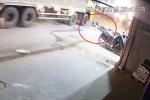 Cố vượt xe tải, thanh niên gặp nạn chết thương tâm