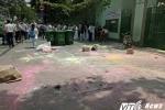Học sinh thi nhau ném bột màu vào cổng trường ở TP.HCM: Hiệu trưởng lên tiếng