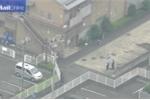 Hiện trường vụ thảm sát bằng dao đẫm máu ở Nhật Bản nhìn từ trên cao