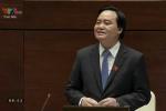 Video: Bộ trưởng GD-ĐT trả lời 'Đề án ngoại ngữ 9.000 tỷ không đạt mục tiêu'