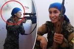 Video: Cận cảnh viên đạn sượt qua đầu, suýt lấy mạng nữ bắn tỉa khi đấu súng với IS