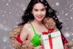 Ngẩn ngơ ngắm Ngọc Trinh cực xinh đón Noel