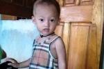 Bé trai 20 tháng tuổi mất tích bí ẩn ở Thanh Hóa
