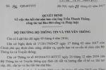 Thu thẻ nhà báo người gửi công văn cho ông Đoàn Ngọc Hải