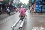 Ảnh: Xe 'máy chém' tung hoành, vô tư vượt bốt CSGT Thủ đô