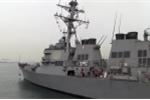 Video: Cận cảnh tàu khu trục USS Fitzgerald tối tân của Hải quân Mỹ