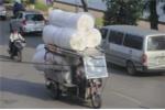 Hà Nội: Truy quét xe 'tự chế' lấy danh nghĩa thương bệnh binh, người khuyết tật