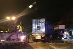 'Hung thần' container ủi sập nhà dân trong đêm