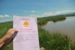Cán bộ tư pháp huyện 'hô biến' ruộng của 16 hộ dân thành ao cá
