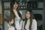 Nữ du học sinh Việt khoe vẻ đẹp căng tròn tuổi 20 trong tà áo dài trắng