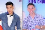 Á vương Thuận Nguyễn đọ vẻ nam tính với MC điển trai nhất VTV