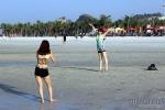 nắng nóng, nắng gay gắt, nóng kỷ lục, nóng thiêu đốt, Bãi Cháy, Quảng Ninh, Hạ Long