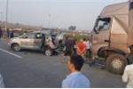 Tai nạn trên cao tốc Hà Nội - Thái Nguyên, 10 người thương vong