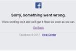 Facebook ở hàng loạt nước châu Á không thể truy cập