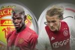 Xem chung kết Europa League MU vs Ajax trên kênh nào?