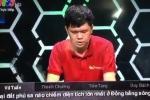 Chung kết Olympia 2016: Phần khởi động của Vũ Tuấn