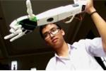 Video: Cánh tay robot của 'nam sinh bị từ chối visa' đạt giải ba tại Mỹ