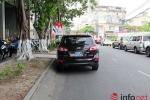 Bất ngờ khi xác minh xe biển xanh đỗ trái đường giữa phố Đà Nẵng