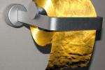 Video: Cuộn giấy bằng vàng 'vô dụng', giá ngất ngưởng 33,5 tỷ đồng
