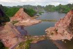 Công trường khai thác đá trên vịnh Hạ Long: Đề nghị Bộ Quốc phòng vào cuộc
