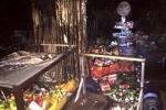 Cháy rụi 4 ki ốt ở Sài Gòn trong đêm giao thừa, 2 người bỏng nặng