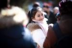 Mỹ nhân đứng chật sân trường trong ngày tuyển sinh của Học viện Điện ảnh Bắc Kinh