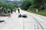 2 xe máy đối đầu trên đường Hồ Chí Minh, 3 người thương vong