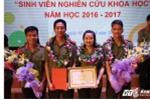 Sinh viên Học viện An ninh giành giải ba cuộc thi 'Sinh viên nghiên cứu khoa học cấp Bộ'