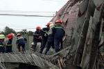Sập công trình xây dựng, 7 công nhân nhập viện