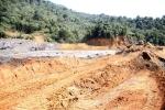 Phạt hơn 1 tỷ đồng công ty làm vỡ đập chứa bùn thải quặng thiếc ở Nghệ An