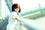 Hot girl Tú Linh khoe ảnh trên cầu Nhật Tân