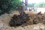 Hơn 100 tấn chất thải Formosa chôn ở trang trại: Có 2 chỉ tiêu vượt ngưỡng cho phép