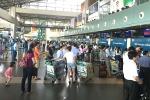 Sân bay Nội Bài mất điện 2 phút