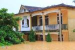 Ảnh: Trường học Hà Tĩnh chìm trong nước lũ, gần 60.000 học sinh không thể đến trường
