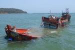 Truy tìm tàu Hải Phòng 1436 đâm chìm tàu cá rồi bỏ trốn