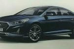 Lộ ảnh phác thảo đẹp ấn tượng của Hyundai Sonata 2018