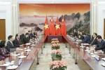 Chủ tịch nước Trần Đại Quang hội kiến với Thủ tướng Quốc vụ viện Trung Quốc