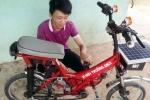 Quá trình chế tạo thành công xe chạy bằng năng lượng mặt trời của cậu học sinh trường làng