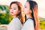 Hot girl Cao đẳng Cảnh sát nhân dân I đẹp tinh khôi trong bộ ảnh chụp cùng em gái